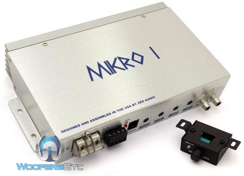 Mikro I   Zed Audio Monoblock 300W Rms Advanced Class D Design Amplifier