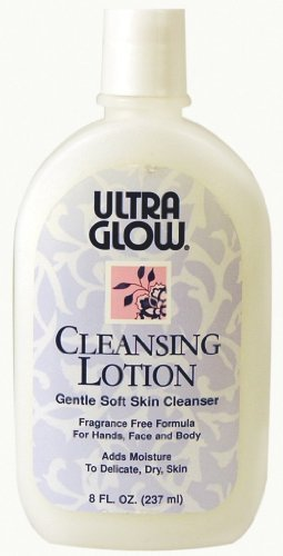 (Ultra Glow Cleansing Lotion Gentle Soft Skin Cleanser 8 oz)