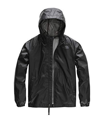 (The North Face Kids Boy's Zipline Rain Jacket (Little Kids/Big Kids) TNF Black X-Large )