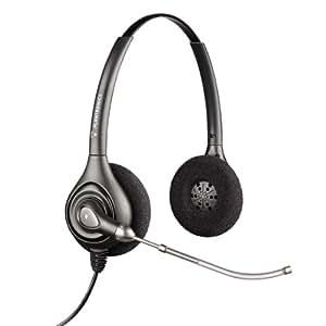 Plantronics 36830-41 - Auriculares de diadema abiertos, conector Quick Disconnect, color negro
