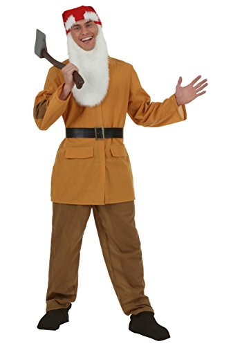Adult Brown Dwarf Costume Standard -