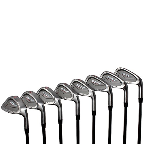 Ginty Golf Clubs Altima Complete 8-Piece XL Big & Tall Men's +2