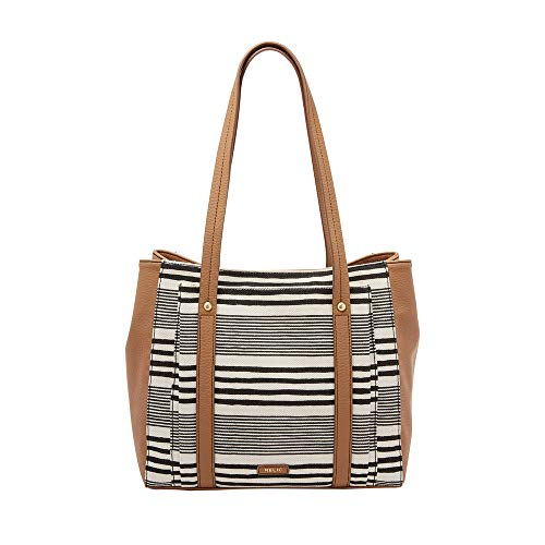 Relic by Fossil Bailey Double Shoulder Bag Black/White