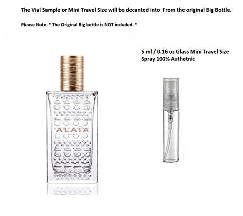 Alaia Perfume Eau De Parfum Blanche 0 16 Oz 5 Ml Glass Mini Travel Size Spray