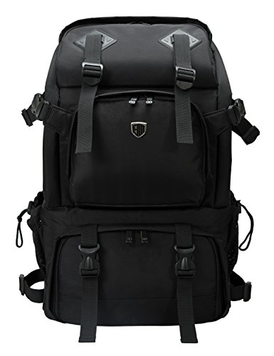 BAGSMART Anti-Theft Professional Gear Backpack for SLR/DSLR Cameras & 15