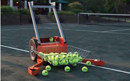 Tennis Ball Mower - Har-Tru Tennis Court Accessories - Ball Baskets Ball Mower