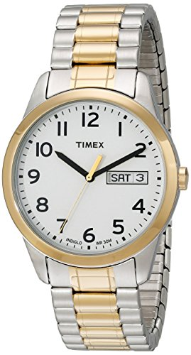 Timex Men's T2N065 South Street Sport Brown Croco Pattern Leather Strap Watch by Timex