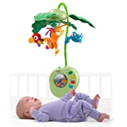 Fisher-Price Musical Mobile Rainforest Peek-a-Boo Leaves