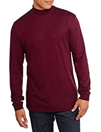 Big Men's Mock Neck Shirt