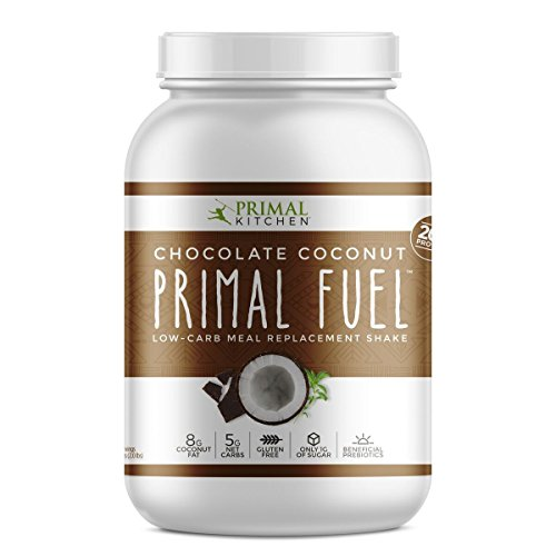 Primal Kitchen - Primal Fuel Whey Protein Powder, Low Carb Meal Replacement Supports Weight Loss (Chocolate Coconut, 32 oz) - Low Fat Meals