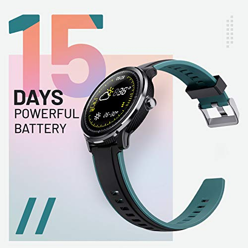 Crossbeats Ace Metal Smart Watch for iPhone Samsung Android