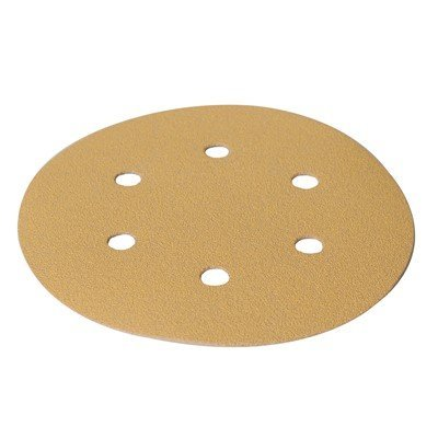 Mirka Gold 3'' Grip Back P180 6-Hole Abrasive Sanding Discs 50/Case (3 Case) by Mirka