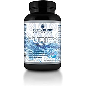 Purify By Body Fuse Usa: All Natural, Gentle, Highly Effective Gastro Intestinal Tract Cleanser to Prevent Bloating, Water Retention and Irregularity, Increase Metabolism, Weight Loss and Overall Health. Cleanse and Detox