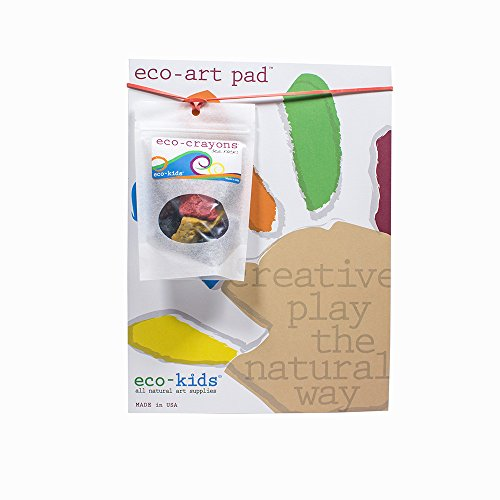 eco-kids Rock Crayons & Eco-Art Pad Set made in New England