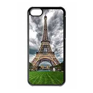 iPhone 5c Case Image Of Paris YGRDZ24264 Plastic Phone Case For Women