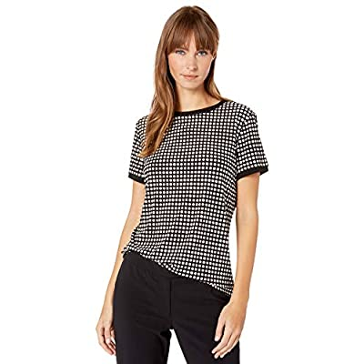 Anne Klein Women's Button Back Top at  Women's Clothing store