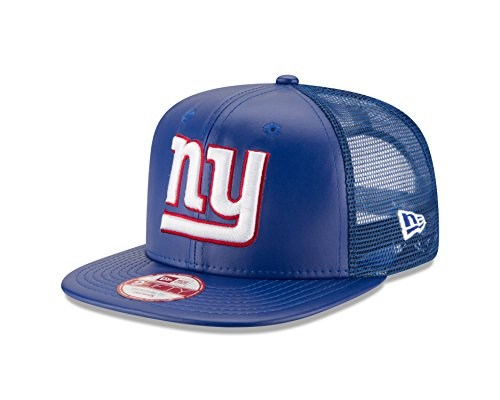7c5cbe8a NFL New York Giants Team Sleek Trucker 9FIFTY Cap, One Size, Blue - Buy  Online in Oman.   Sports Products in Oman - See Prices, Reviews and Free  Delivery in ...