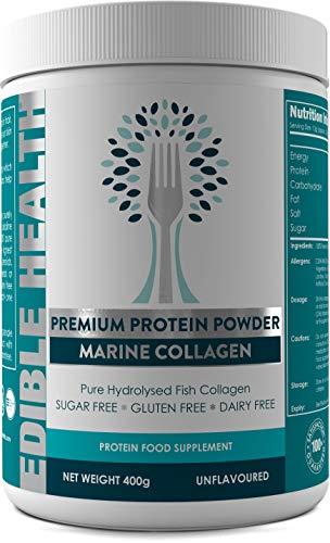 Marine Hydrolysed Collagen Protein Powder - Wrinkles, Hair, Skin, Nails, Bones,...