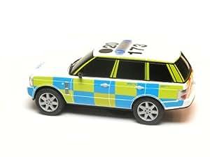 Scalextric C2808 - coche Range Rover (policía) (escala 1 -32) [Versión en inglés]