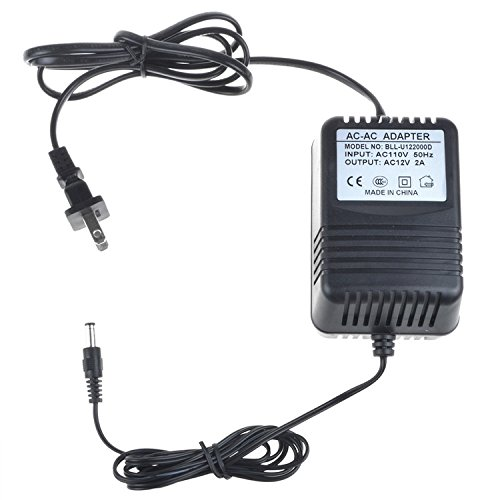Price comparison product image PK-Power AC Adapter for The Basement Watchdog AC1201600-1 AC ADAPTER 12VAC / AC12V 1015001; Videonics MX-1 NTSC Digital Audio Video Mixer Power Supply