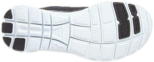 Skechers Flex Appeal Love Your Style, Zapatillas Deportivas, Mujer, NULL, Negro (Bkgd)