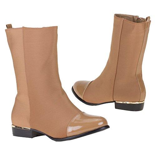 chaussure bottes botillon bottines camel femme nouvelle collection 39