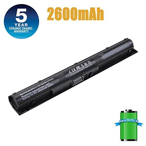 KI04 HSTNN-LB6S HSTNN-LB6R 800049-001 800010-421 TPN-Q158 New Laptop Battery Compatible with HP Pavilion 14-ab006TU 15-ab000 15-ab038TX 17-g000-18 Months Warranty (KI04 HSTNN-LB6S)