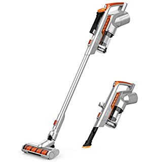 Cordless Vacuum Cleaner 16KPa Powerful Suction 200W Motor 2 in 1 Stick Handheld Vacuum for Home Hard Floor Carpet Car Pet