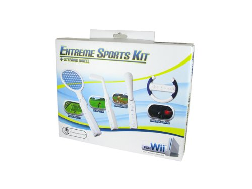 Wii 4-in-1 Extreme Sports Kit ()