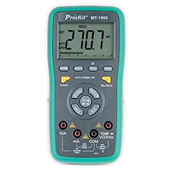 Pro sKit MT-1860 Multimeter, Dual Display with PC Interface