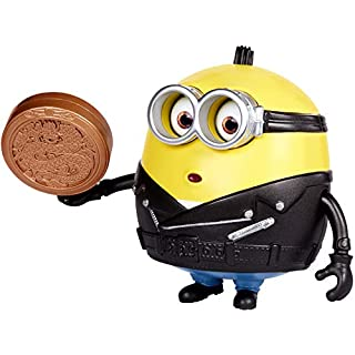 Minions: The Rise of Gru Otto Button Activated Action Figure Approx 4-in , 10-cm with Zodiac Stone Accessory, Gift for Kids Ages 4 Years and Older