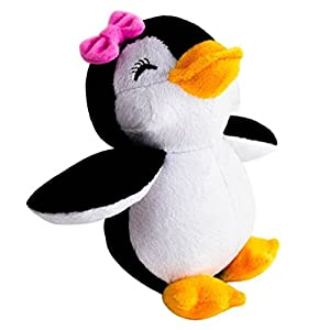 stuffed girl penguin - 5 inch plush soft animal toy for babies and children - by epickids - 41YQaGVNSQL - EpicKids Girl Penguin Plush – Stuffed Animal Toy – Suitable for Babies and Children – 5 inches