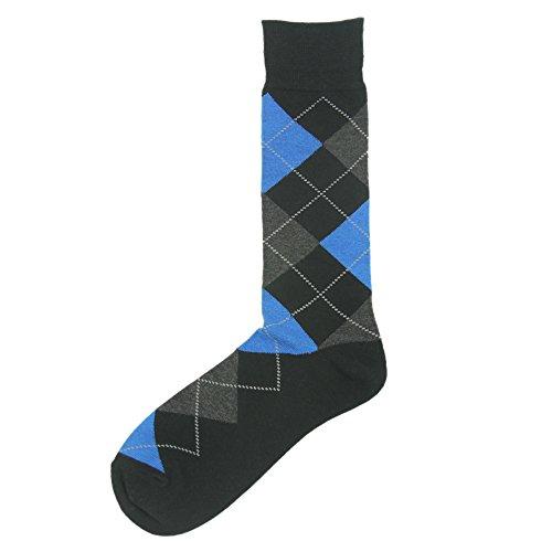 Casual Crew Dress Socks, SUTTOS Men's Argyle Striped Funky ...   500 x 500 jpeg 18kB