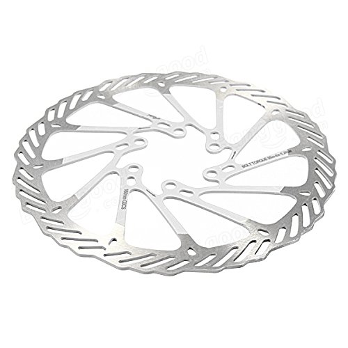 160mm Bicycle MTB Stainless Steel Brake Disc For Avid G3 ( Gold ) by Freelance Shop SportingGoods