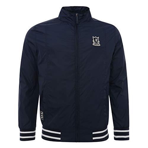 Liverpool FC Blue Mens Football Navy Harrington Jacket AW 18/19 LFC ()