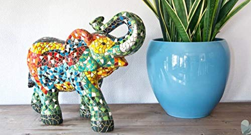 Materiaal Polyresin Olifant 4 groottes Barcino Gaudi Moza/ïek Beelden /& Figuren