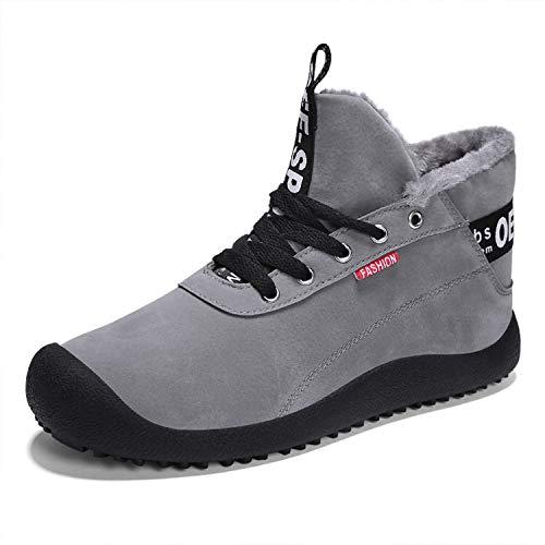 Chaussures De Sport Baolesem Hommes Hiver Bottes Neige Plein Air D'hiver Doubl