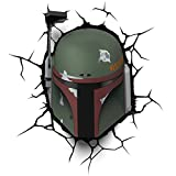 Cheap 3DLightFX Star Wars Boba Fett 3D Deco Light