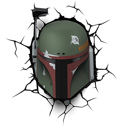 - 3DLightFX Star Wars Boba Fett 3D Deco Light