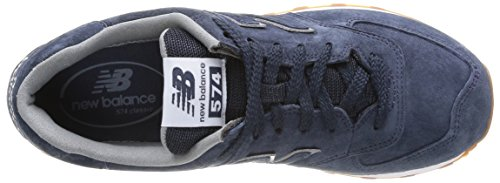 Hombre Marino 574 Baja Buty Zapatilla New Azul Balance qgP1wx6