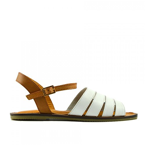 Classic Weiß Sandalen Damen Casual Sommer Schuhe Footwear Mode Kick Uq76Y