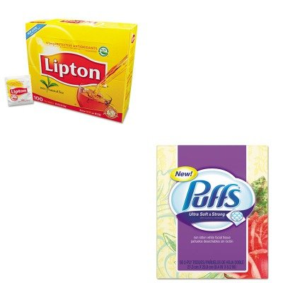 KITLIP291PAG35038 - Value Kit - Procter amp; Gamble Professional Facial Tissue (PAG35038) and Lipton Tea Bags (LIP291)