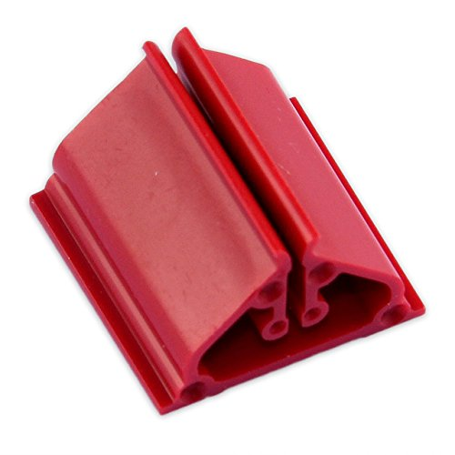 """UPC 703610223608, 10 Plastic Game Card Stands - Red 3/4"""""""