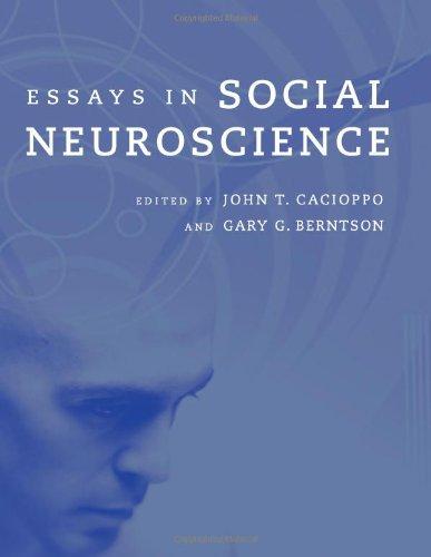 Essays in Social Neuroscience