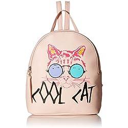 playera & Jeans Cool Cat Mochila en Blush, Blush, Talla unica