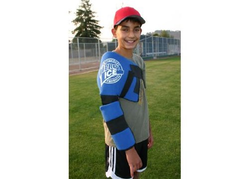Youth Baseball Pitcher (Ages 12 & Below) Shoulder/Arm Ice Wrap