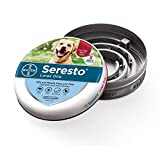 Seresto flea and tick collar for large dogs, 8 month flea and tick prevention