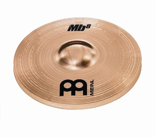 Meinl Cymbals MB8-10MH-B 10-Inch Brilliant Finish Mini Hi-Hat Cymbal Pair (VIDEO)