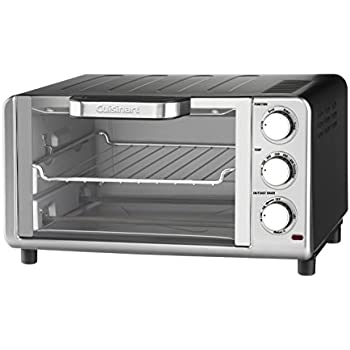 Cuisinart TOB-80N Compact Toaster Oven Broiler, Stainless Steel