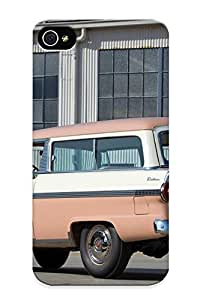 Runandjump 2fa39d7757 Protective Case For Iphone 4/4s(1956 Ford Parklane Stationwagon (59c) Retro ) - Nice Gift For Lovers